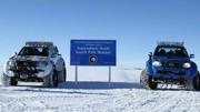 D'indestructibles Toyota Hilux en Antarctique !