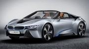BMW i8 Concept Spyder : hybride rechargeable et découvrable