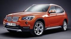 BMW X1 2012 : premiers visuels du restylage