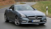 Essai Mercedes SLK 250 CDI BlueEFFICIENCY : un cocktail étonnant