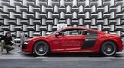 Audi E-Tron : les anneaux montent le son