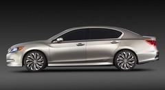 Acura RLX Concept : avec des bouts de future NSX dedans