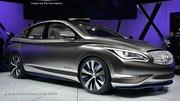 Infiniti LE concept électrique, bien plus qu'une Nissan Leaf améliorée