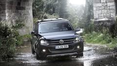 Essai Volkswagen Amarok boîte auto 8 rapports et Crafter 4Motion Achleitner