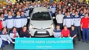 Toyota Yaris Hybride HSD : la production en France a commencé