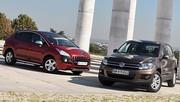 Essai Peugeot 3008 1.6 HDi 112 ch vs Volkswagen Tiguan 2.0 TDI 110 ch : Cross combat
