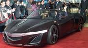 Vidéo : l'Acura NSX Roadster se dévoile à Hollywood