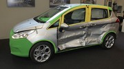 Les portes du Ford B-Max résistent aux chocs