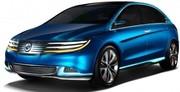 Daimler et Byd présentent à Pékin un concept très élaboré : la Denza
