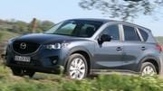 Essai Mazda CX-5 : Son appétit  fait mentir sa taille, généreuse