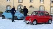 Essai Fiat 500 Luxe (1970) vs Fiat 500 TwinAir (2008) : tête-à-queue mécanique