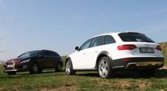 Essai Audi A4 Allroad TDI vs Peugeot 508 RXH : La preuve par quatre