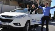 La traversée de l'Europe en Hyundai ix35 à hydrogène