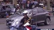 Découvrable et hybride, la DS5 très spéciale de Hollande