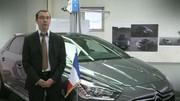 Les Citroën présidentielles et la DS5 HYbrid4 de François Hollande