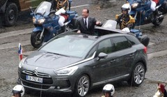 Président normal, mais voitures très spéciales