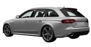 La nouvelle Audi RS6 révélée par l'Office Européen des Brevets