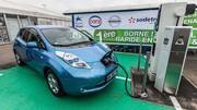 Nissan : des bornes de recharge rapide en France et aux Pays-Bas