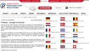 """""""Voyager en Europe"""" : 17 fiches sur les règles et pratiques de conduite en vigueur chez nos voisins"""
