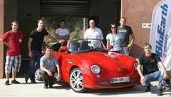 Les élèves des Mines d'Alès présentent la voiture propre de demain