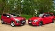 Essai Mercedes Classe B CDI 109 vs Peugeot 3008 HDi 112 : choix alternatifs