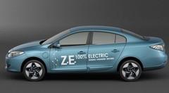 Renault dévoile la SM3 Z.E. en Corée