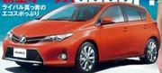 Design plus sportif pour la nouvelle Toyota Auris
