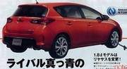 Toyota Auris 2012 : photos et infos en fuite !