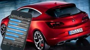 Opel Astra OPC, la télémétrie via votre smartphone