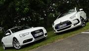Essai Citroën DS5 Hybrid4 200 ch vs Audi A5 Sportback 3.0 TDI 204 ch : La guerre du premium