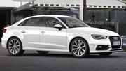 Audi A3 berline : c'est pour bientôt