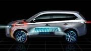 Le Mitsubishi Outlander hybride rechargeable