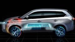 Mitsubishi Outlander hyrbide rechargeable, la version définitive au Mondial