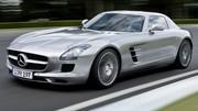Pas de Mercedes SLS AMG 4 portes