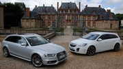 Essai Audi S4 Avant 333 ch vs Opel Insignia OPC Sports Tourer 325 ch : Sprinteur ou boxeur?