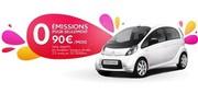 Une Citroën C Zéro à 90 euros par mois... et qu'on peut partager