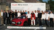 Electric Ring Folies : l'Audi R8 e-Tron en 8'09''099