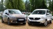Essai Renault Scénic vs Dacia Lodgy : l'ennemi qui venait de l'intérieur