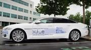 Jaguar : la XJ_e Plug-in Hybrid présentée à Goodwood