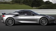 Infiniti Emerg-E fait son apparition à Goodwood