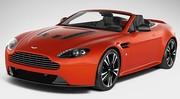 Aston Martin V12 Vantage : fuite de photos de la version roadster