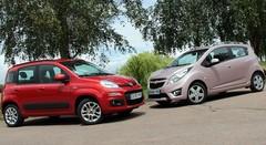 Essai Chevrolet Spark 1.2i 81 ch vs Fiat Panda 0.9 TwinAir 85 ch : Petites... En apparence