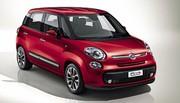 Fiat 500L : les tarifs