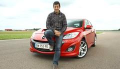 Essai Mazda 3 MPS par Soheil Ayari