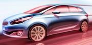 Kia présentera le nouveau Carens au Mondial de l'automobile