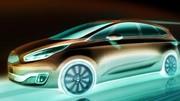 Kia annonce son monospace Carens pour le Mondial de l'Automobile 2012