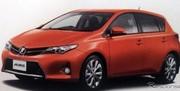 Nouvelle Toyota Auris : déjà les photos grâce à sa brochure