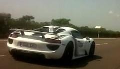 Future Porsche 918 Spyder : vidéo et nouvelles photos scoop