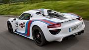 Porsche 918 Spyder : les photos officielles de l'édition Martini Racing