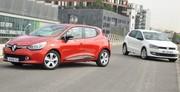 La Renault Clio IV face à la Volkswagen Polo